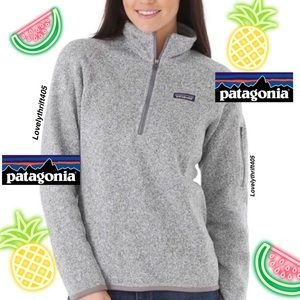 Patagonia Womens Better Sweater 1/4 Zip Size L